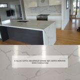 Foshan는 돌 석판 Calacatta 백색 대리석 석영 S 싱크대를 설계했다