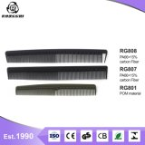 Anti- matériau en fibre de carbone statique Salon de l'utilisation de soins personnels Peigne à cheveux