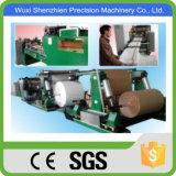 Bolsas de harina que hace la máquina de corte con las unidades de coser