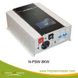 8KW, 10KW, 12kw Inversor de Potência de entrada DC de baixa com o carregador
