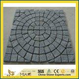 De Treden van de steen, Kerbstone, Cubestone, de Straatsteen van het Graniet