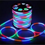 Indicatore luminoso al neon flessibile impermeabile multicolore del tubo LED dell'indicatore luminoso al neon di 110V LED