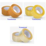 Cinta de adherencia adherir cinta adherente de la cinta de embalaje transparente adhesivo acrílico de envío