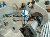 Machine feuilletante de imperméabilisation adhésive de jet d'enduit de roulis de fonte chaude