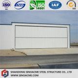 Fabricante profesional de hangar de aviones de la estructura de acero