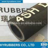boyau hydraulique en caoutchouc du boyau 4sp à haute pression sertissant le boyau hydraulique