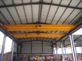Guindastes de levantamento de viagem do gancho das despesas gerais de planta da construção de aço para o trabalho de levantamento