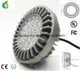 Sem ventilador de refrigeração 25W RA111 Luz de LED com 100-277VAC e LEDs Osram de S5 CRI 82