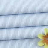 2mmの縞の綿のドビーのワイシャツファブリック