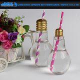 Neue Birnen-Form-Glasflasche der Lampen-2017 für Getränk