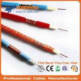 75 Coaxiale Kabel van het Schild van de Telecommunicatie CATV rf van het ohm RG6 de Standaard