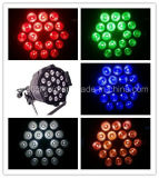 18X10W RGBWA 5in1 LED PAR luz