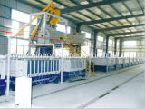 Machine de fabrication de panneaux de paroi en béton léger en béton