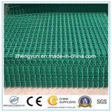 Горячая панель загородки ячеистой сети сбываний покрынная PVC сваренная