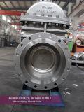Válvula de portão de capota com fecho CF8m de aço inoxidável 150lbs