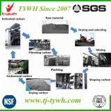 Polvo de carbón activo para el tratamiento de aguas residuales