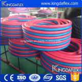 Tubo flessibile dell'acetilene e dell'ossigeno che salda riga gemellare tubo flessibile