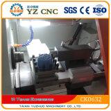 Ck0640 3 턱 물림쇠 금속 소형 CNC 선반