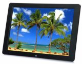 """LED HD 15"""" haute résolution cadre photo photo numérique pour la publicité soutenant l'exécution automatique"""