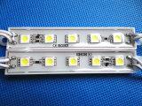 Luz blanca de Wateproof del módulo 5LED de DC12V 5050