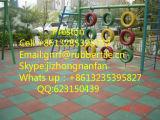Kindergarten-Gummimatte, Spielplatz-Gummifliese, Gymnastik-Gummi-Fußboden