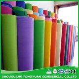 Matérias têxteis bond giradas não tecidas da tela para a matéria- prima descartável de pano de tabela