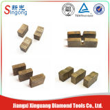 De Scherpe Segmenten van het Graniet van de diamant voor het Blad van de Zaag van de Diamant