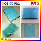 La Cina Dental Material Disposable Dental Bib con CE, FDA Approval