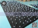 3x5m personnaliser la taille de rideau de toile de fond à LED