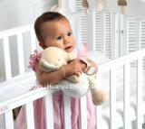 Tissu organique Bébé doux animal en peluche Jouet de style