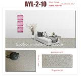 Étage à haute brillance personnalisé de PVC de configuration de pierre de plancher de vinyle d'épaisseur
