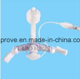 Máscara de oxígeno médica aprobada del No-Respiradero del CE de la marca de fábrica de Ht-0452 Hiprove