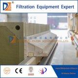 2017 PLC Prensa Filtro de membrana de deshidratación de lodos Serie 1250