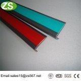 Escalera de aluminio del ribete de diversa anchura que olfatea tiras