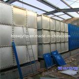 En acier inoxydable de réservoir de stockage de l'eau potable pour les écoles