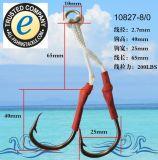 Attrait japonais de pêche de gabarit d'attrait de pêche d'attrait de pêche de qualité