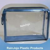 Mango redondeado Super PVC transparente bolsa de compras