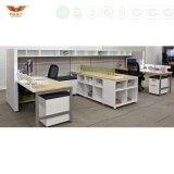 Poste de travail moderne de partition de bureau de système de panneau de poste de travail de bureau pour des meubles de bureau