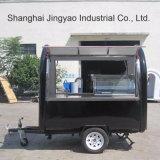 Beweglicher Nahrungsmittelschlußteil-Fertigung-Eiscreme-Nahrungsmittelkarren-Straßen-Handelsnahrungsmittelkiosk-mobiler Nahrungsmittelkarren-Schlussteil