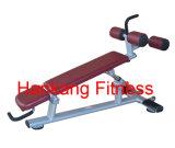 体操装置、適性機械、ボディービル機械、調節可能な低下+腹部のベンチ(PT-938)