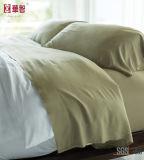 Doux et confortable de viscose de bambou draps de lit fixe