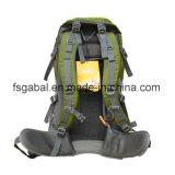 Novo 70L verde Piscina Camping caminhadas mochila de náilon Bag