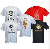 T-shirt impresso de moda para homens (M260)