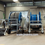 Huisong Hot Sale voyageant IRRIGATOR, Flexible de bobines d'irrigation de la machine agricole