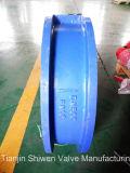 Двойной задерживающий клапан вафли плиты с ISO Ce одобряет