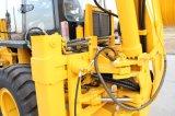 높은 Quality 74kw Four Wheel Drive Construction Backhoe Loader Wz30-25