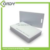 cartão grosso da parte superior em branco lisa branca de 125kHz Tk4100 T5577