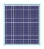 Foto-voltaische Zellen-Solarmodul mit Sillicon, Solarzellen (SYFD10-M (mono))