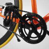 "bicyclette fixe de Fixie de vitesse Fixie de PRO de route de 27 "" vitesse simple orange de vélo"