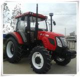 Tracteurs 110HP 120HP 135HP 4WD avec la carlingue fermée à vendre